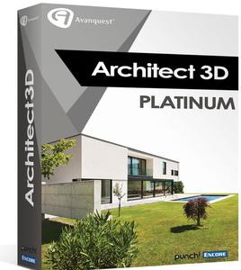 Architect 3d 2017 v19 platinum 3d for Architecte 3d version complete gratuit